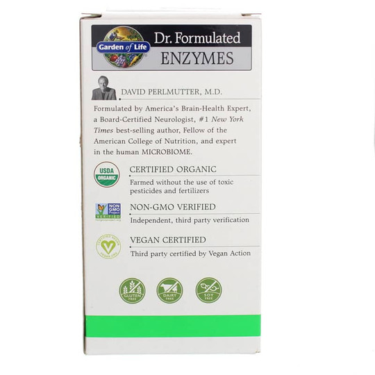 Dr. Formulated Enzymes Organic Digest