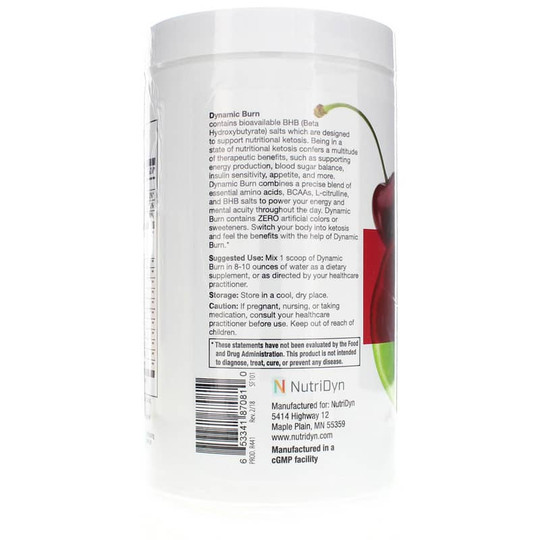 Dynamic Burn Energy & Quick Muscle Recovery Kiwi Cherry Limeade Flavor