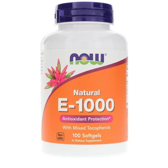 E-1000 Natural with Mixed Tocopherols