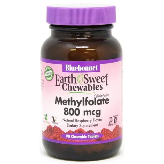 Earth Sweet Chewable Methylfolate 800 Mcg