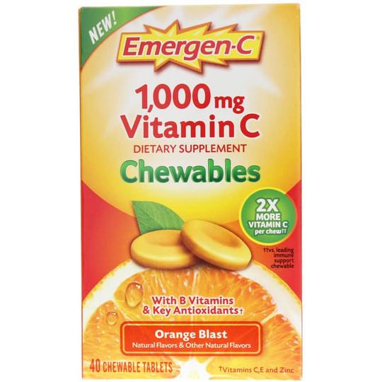 Emergen-C 1000 Mg Vitamin C Orange