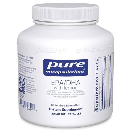 EPA/DHA with Lemon