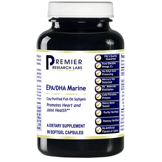 EPA/DHA Marine Softgels Clay-Purified Fish Oil