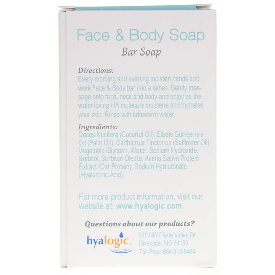 Face & Body Soap with Hyaluronic Acid