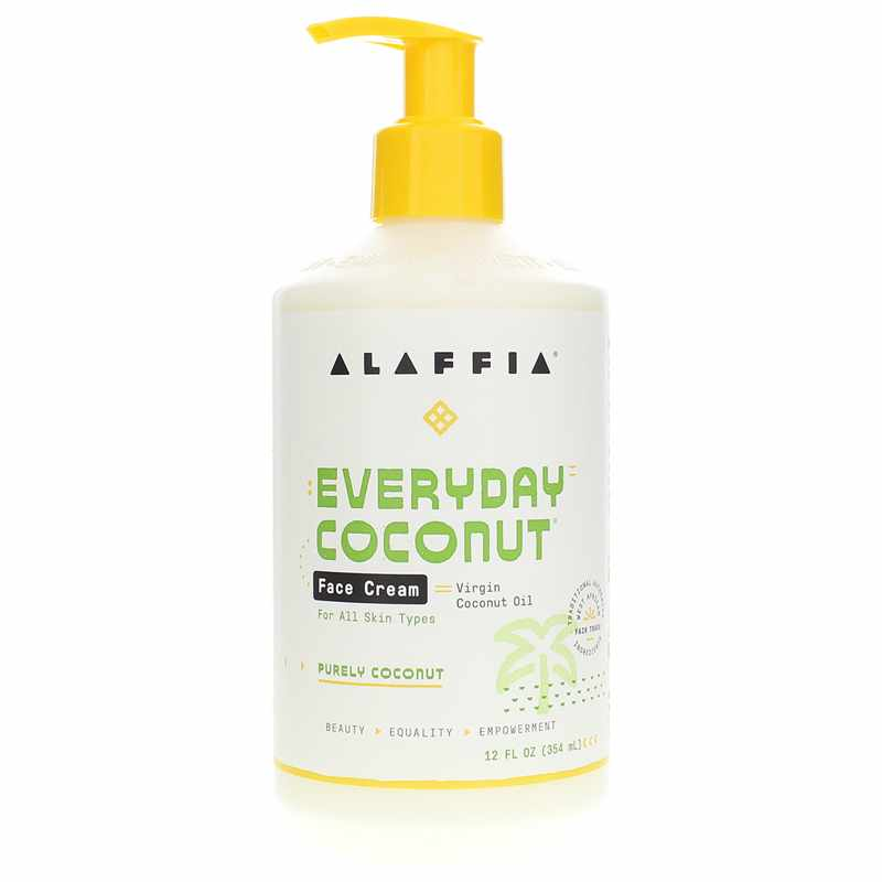 Alaffia Face Cream Everyday Coconut 12 Oz