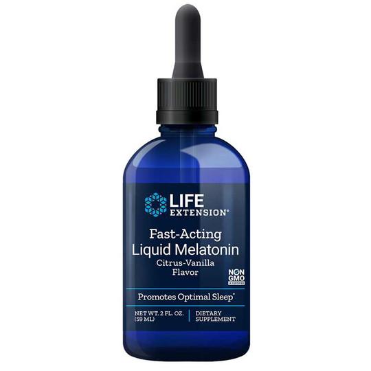 Fast-Acting Liquid Melatonin Citrus-Vanilla