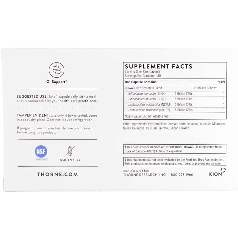 FloraSport 20B Multi-Strain Probiotic