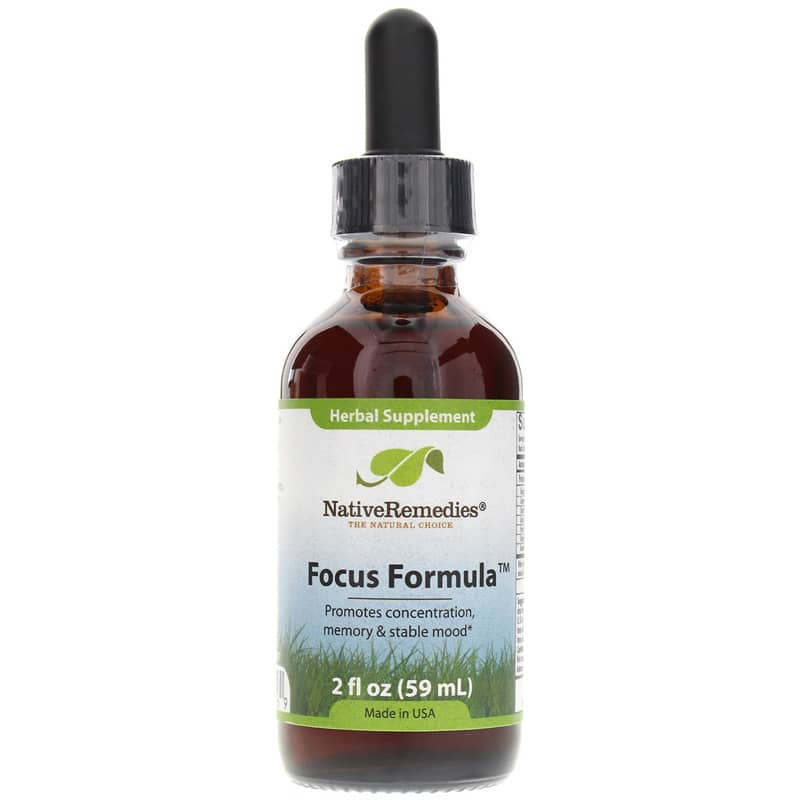 Focus Formula Nativeremedies