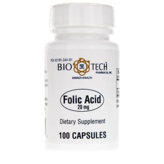 Folic Acid 20 Mg