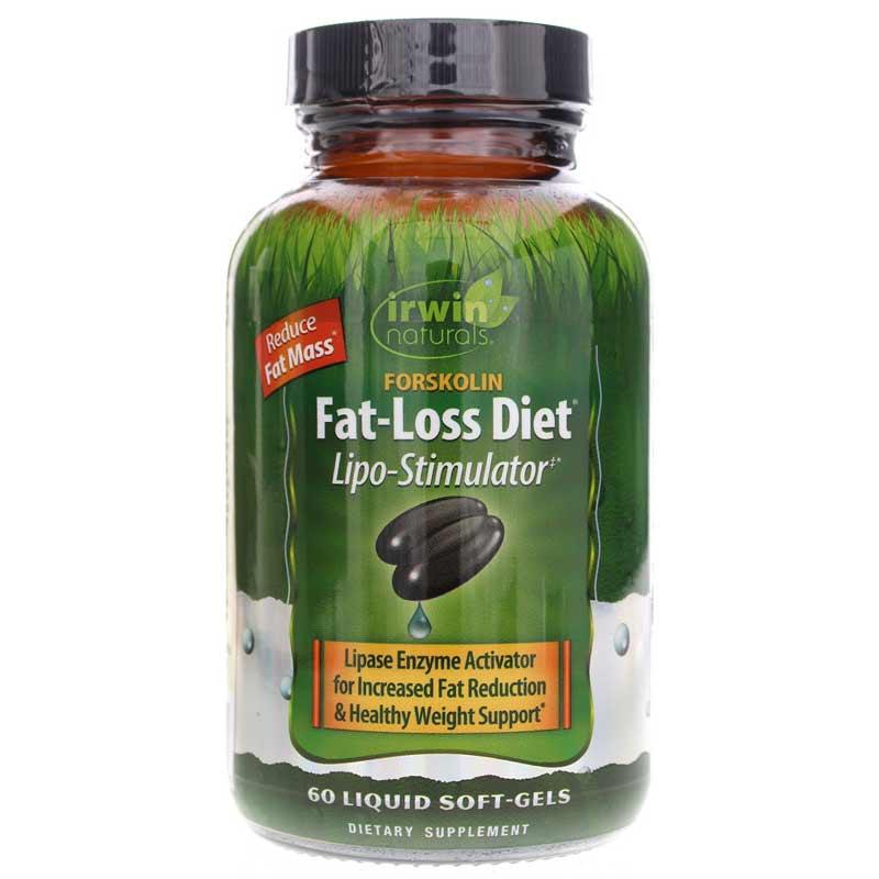 forskolin fat-loss diet, irwin naturals