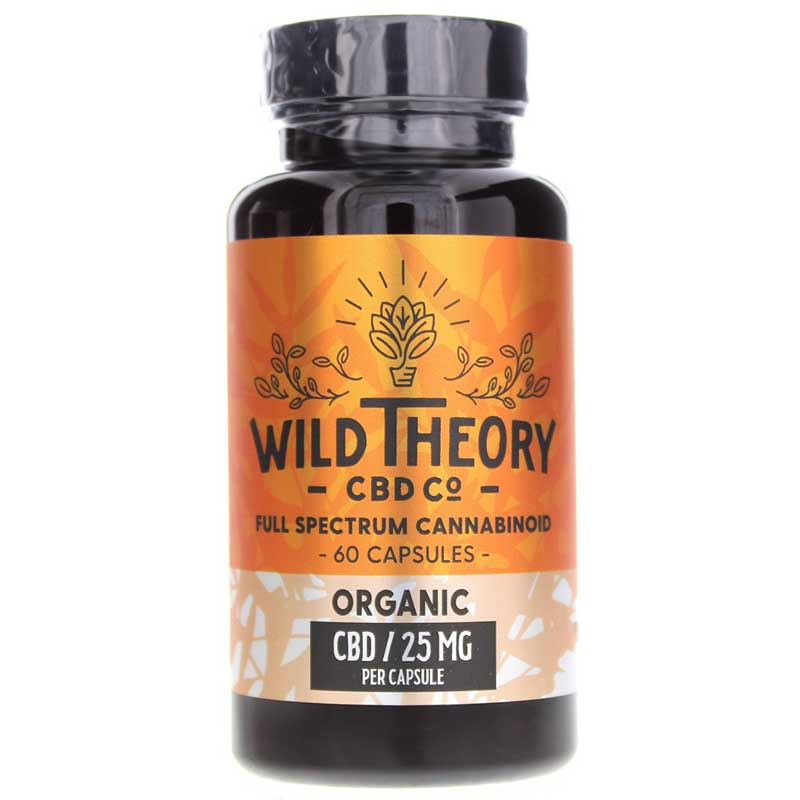 Full Spectrum CBD Capsules 25 Mg