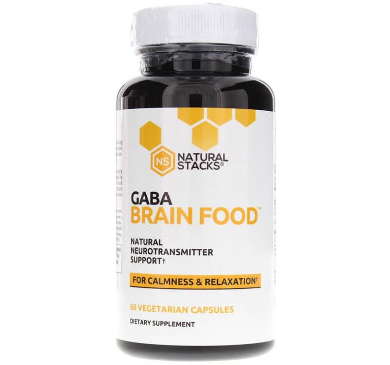 GABA Brain Food, Natural Stacks