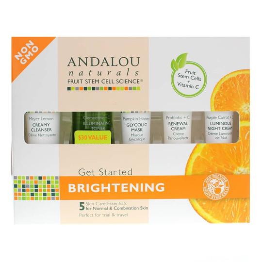 Get Started Skin Care Essentials Kit, Brightening Formula