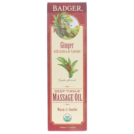 Ginger Deep Tissue Massage Oil