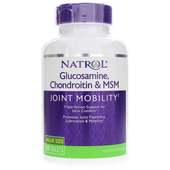 glucosamine-chondroitin-msm-NTR-150-tblts