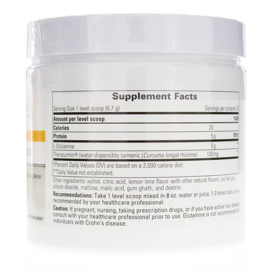 Glutamine Forte Powder Lemon Lime Flavor
