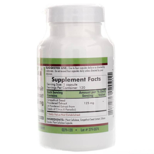 Grapefruit Seed Extract 125 Mg
