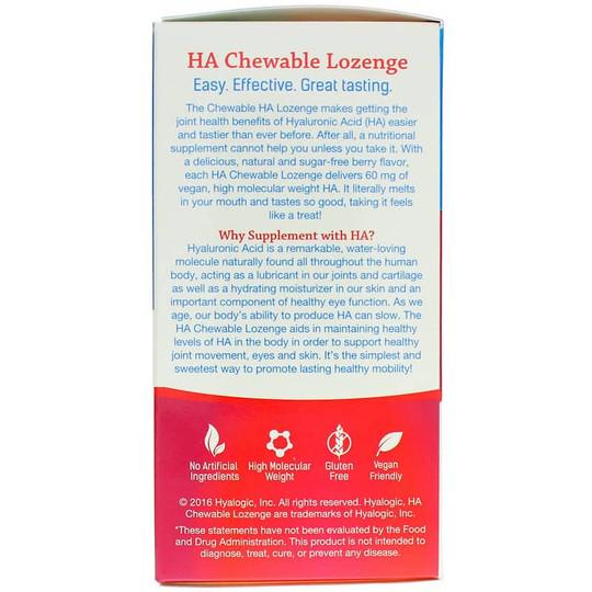 HA Chewable Lozenge for Joints Skin & Eyes