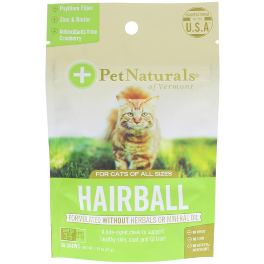 Hairball for Cats of All Sizes