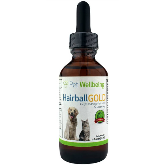 Hairball Gold for Dogs & Cats
