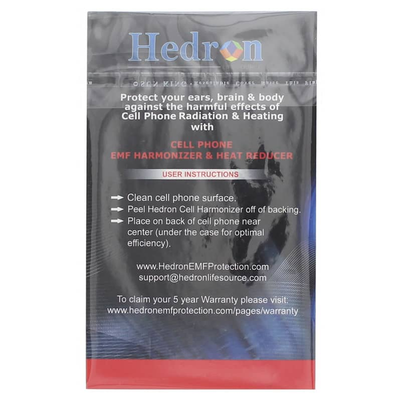 Hedron Protect Cell Phone EMF Shield