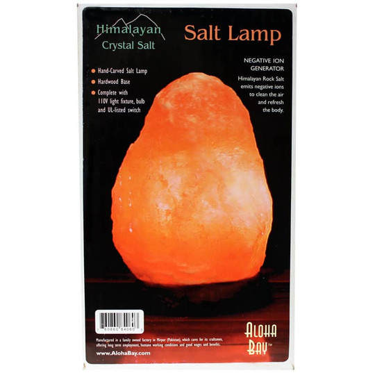 Himalayan Crystal Salt Lamp Small