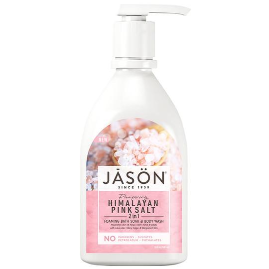 Himalayan Pink Salt 2 in 1 Bath Soak & Body Wash