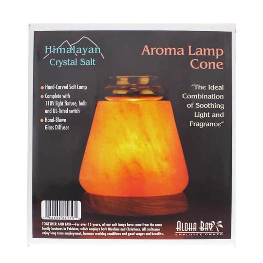 Himalayan Crystal Salt Aroma Lamp Cone