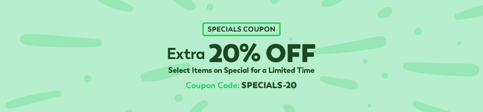 20% Off Select Items