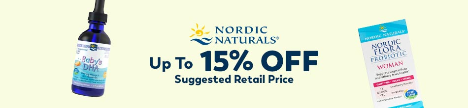 Up to 15% Off Nordic Naturals