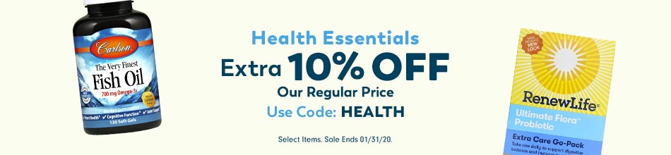 Extra 15% Off Health Essentials Coupon