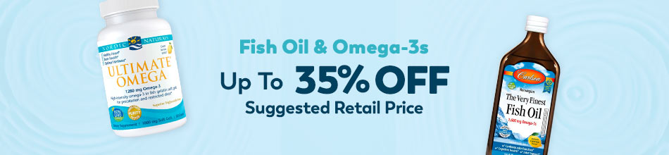 Up to 35% OFF Fish Oils