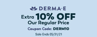 Extra 10% OFF Derma E Coupon