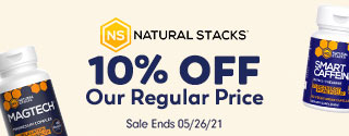 10% OFF Natural Stacks