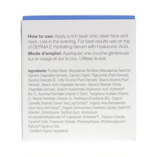 Hydrating Night Cream Hyaluronic Acid