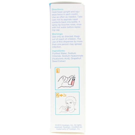 HylaMist HA Nasal Mist for Dry Nose