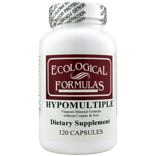 Hypomultiple Vitamin-Mineral Formula without Copper & Iron