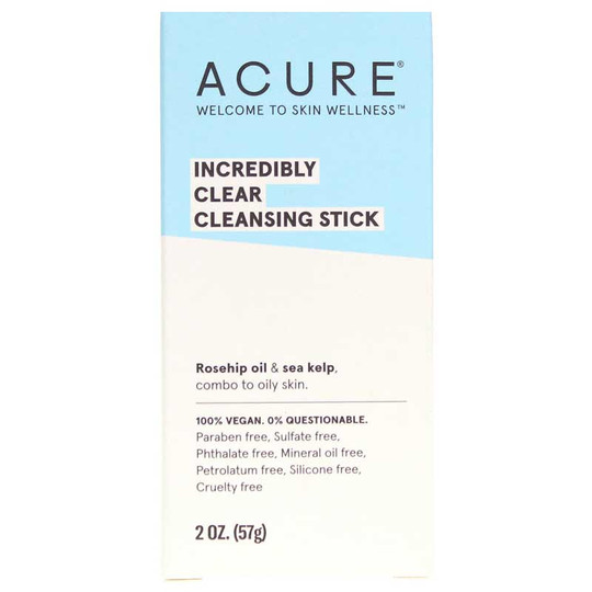 Incredibly Clear Cleansing Stick, Acure Organics