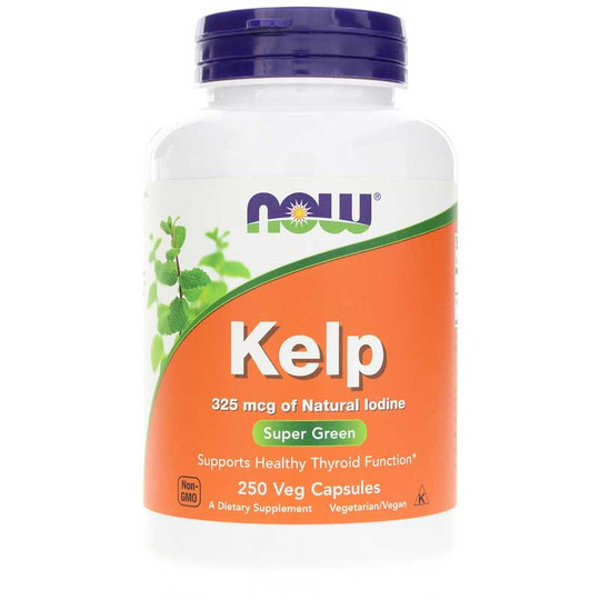 Kelp Caps 325 Mcg of Natural Iodine