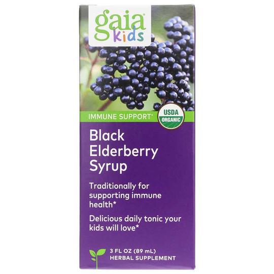 Kids Black Elderberry Syrup Alcohol-Free