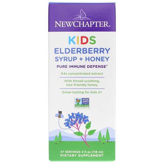 Kids Elderberry Syrup + Honey