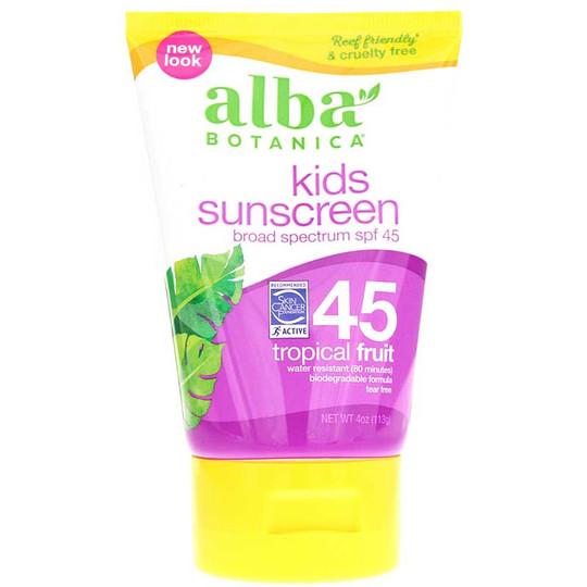 Kids Sunscreen Tropical Fruit SPF 45
