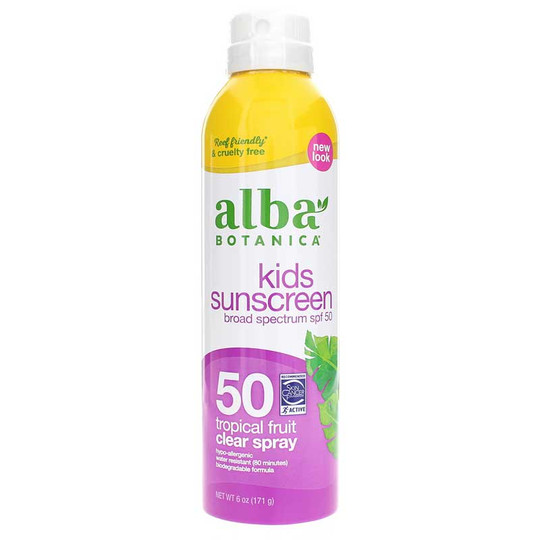 Kids Sunscreen Clear Spray SPF 50