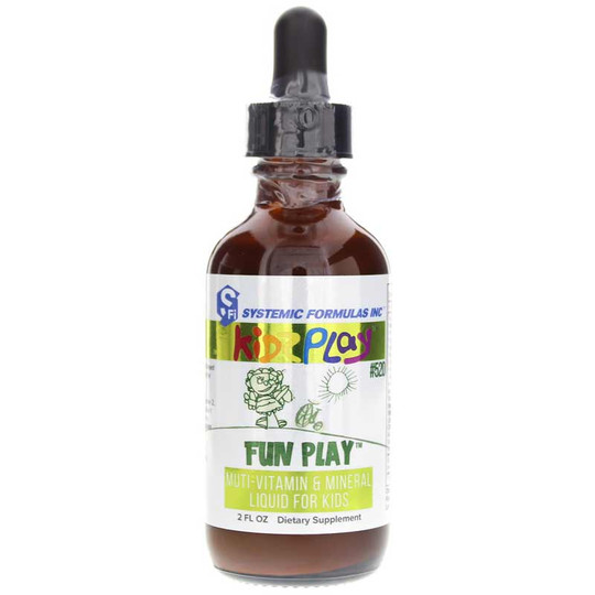 Kidz Play Fun Play Multi-Vitamin Mineral Liquid