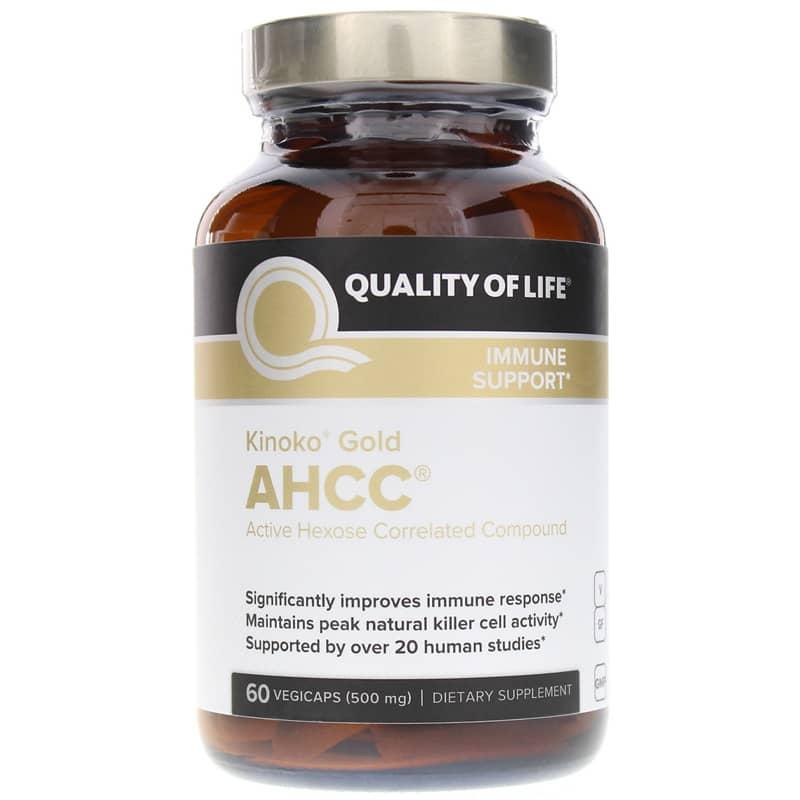 Kinoko Gold AHCC 500 Mg 60 Veg Capsules