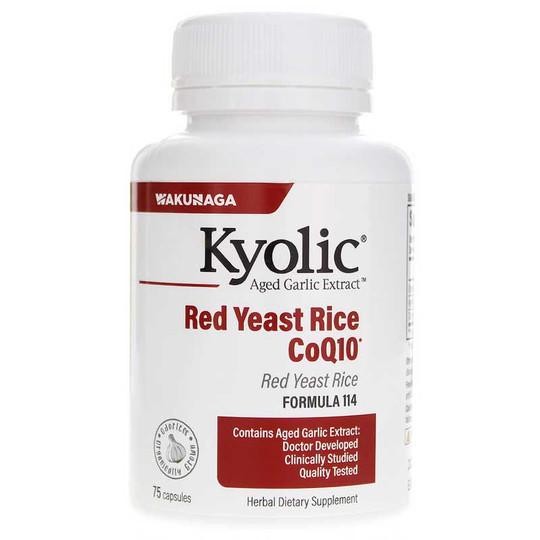 Kyolic Red Yeast Rice Plus CoQ10