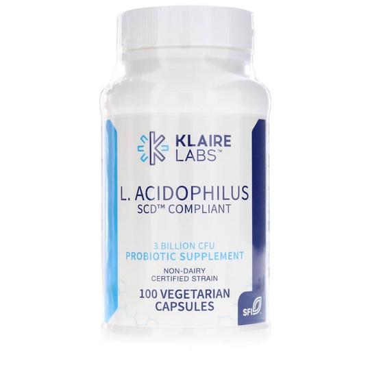 L-Acidophilus SCD Compliant 3 Billion CFU Probiotic