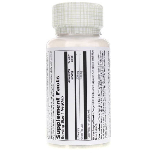 L-Theanine 200 Mg with Green Tea