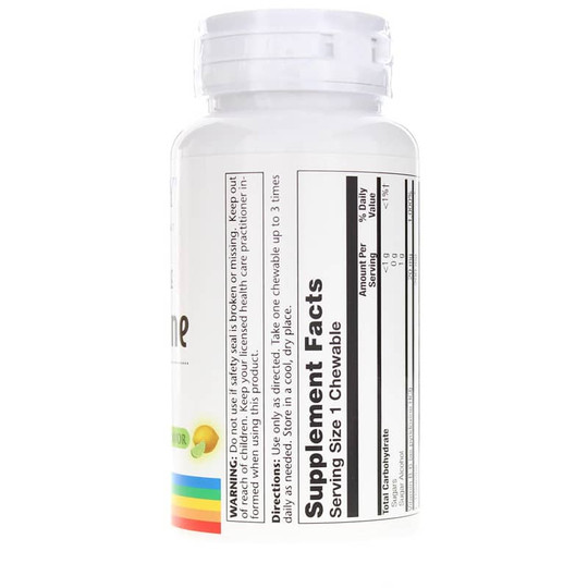 L-Theanine 200 Mg Sugar-Free Chewable with Natural Lemon-Lime Flavor