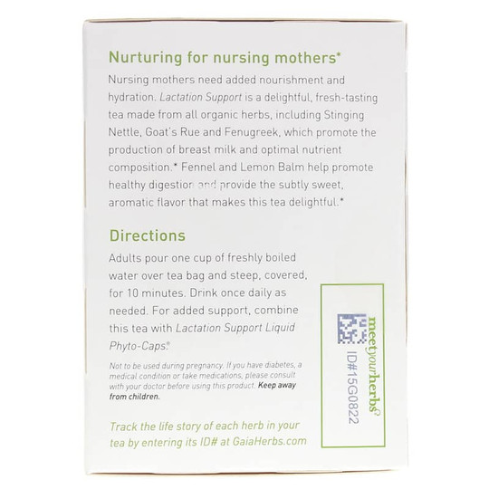 Lactation Support Herbal Tea